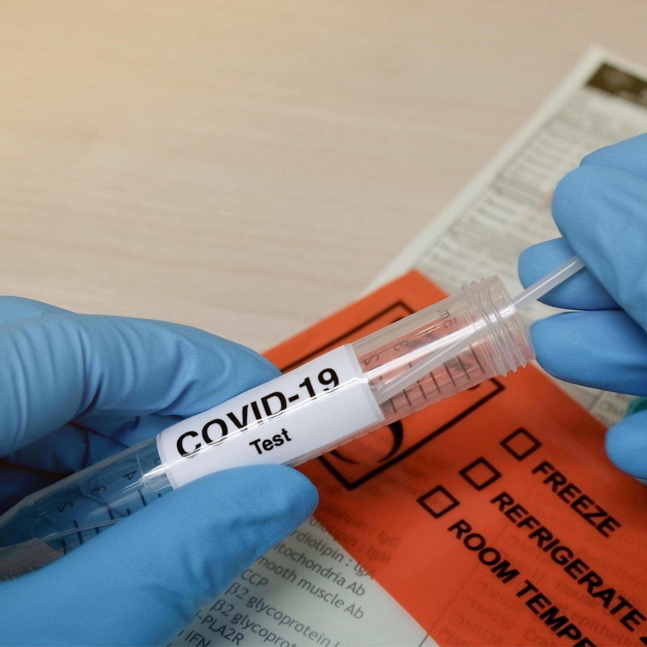 Covid-19 Environmental Testing