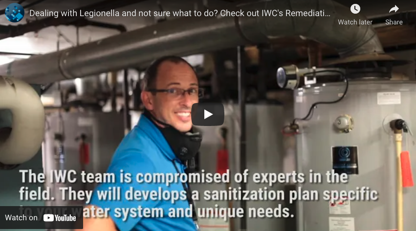 Dealing With Legionella Video Thumbnail