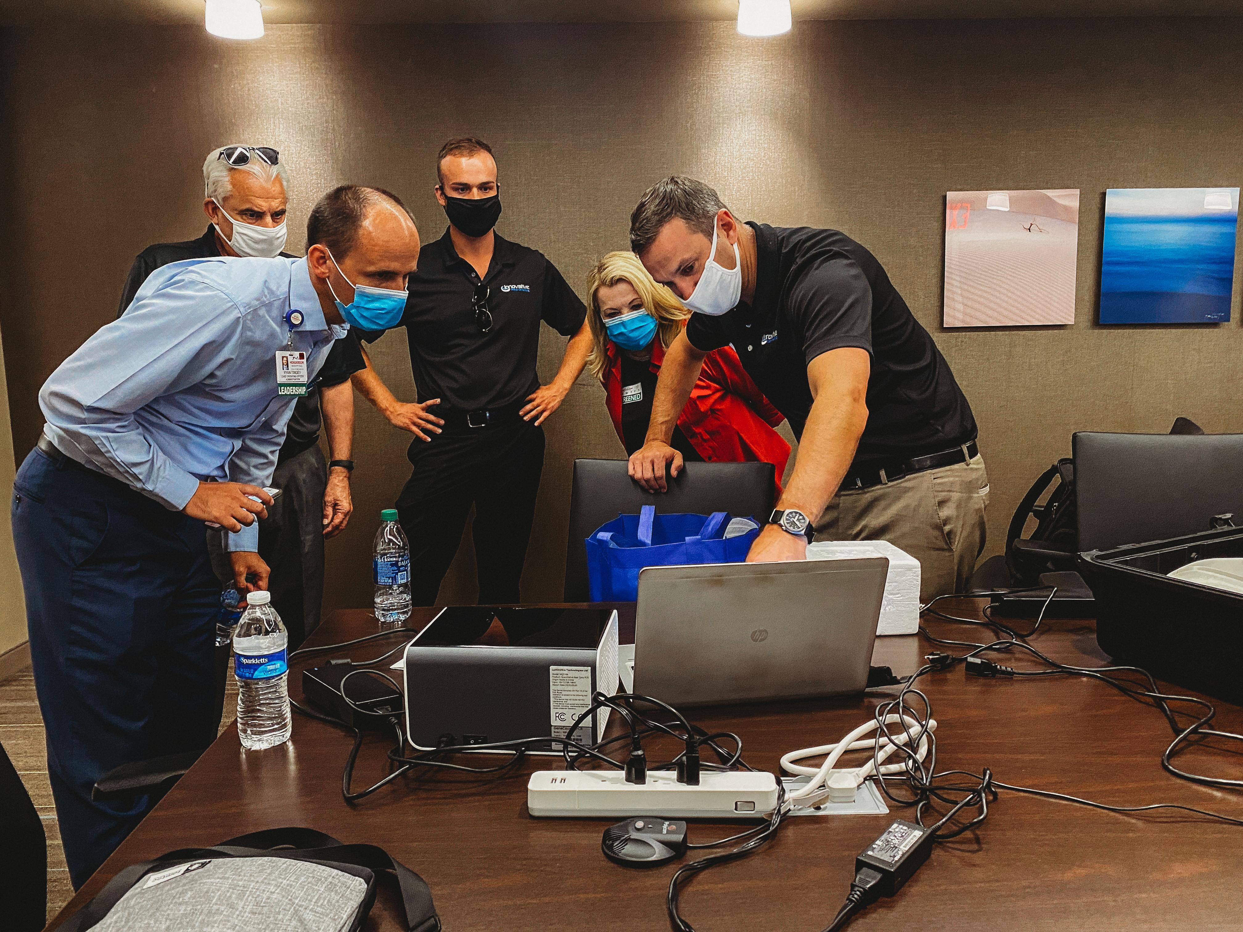 Environmental Testing 1 Website pic