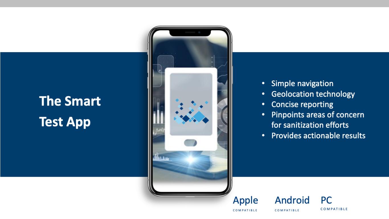 SMART TEST APP Website Image