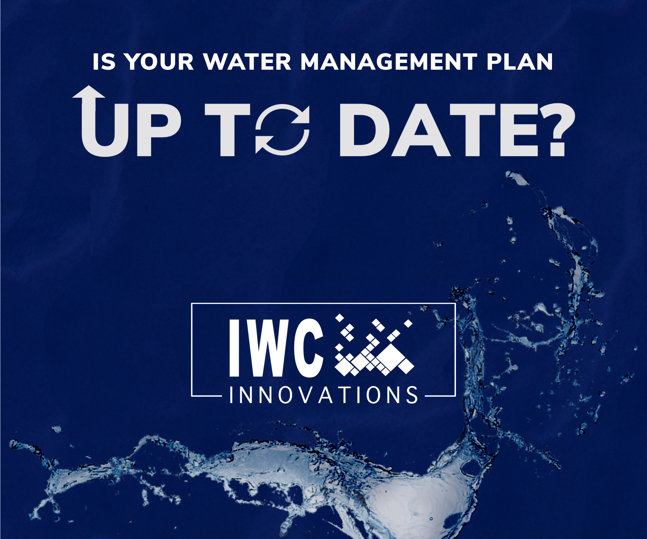 Is Your Water Management Plan Up-To-Date?
